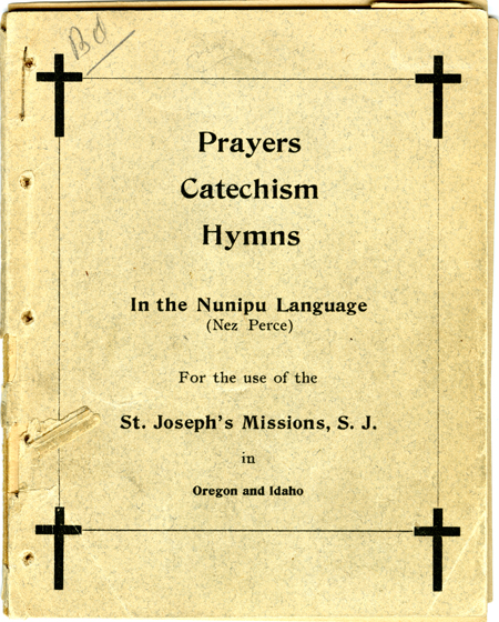 Prayers Catechism Hymns In The Nunipu Language (page 1