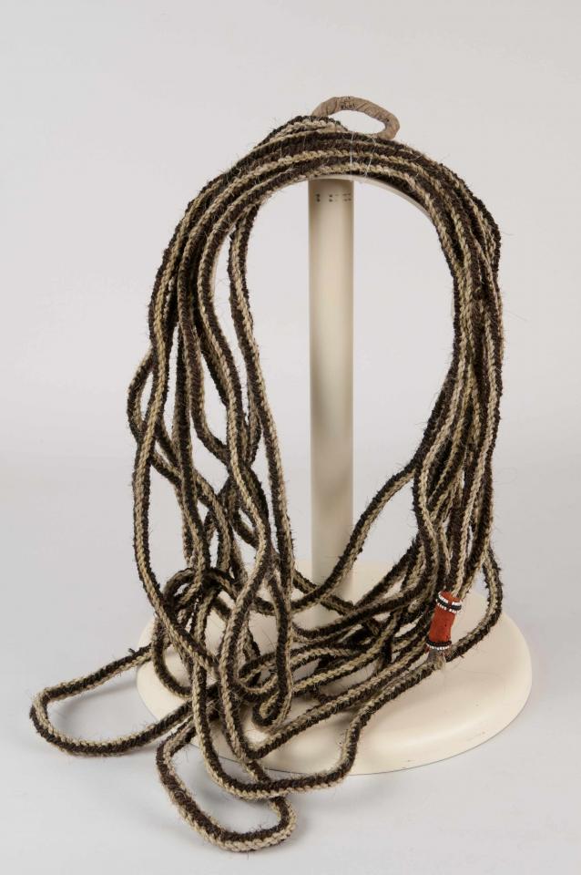 Bison hair rope
