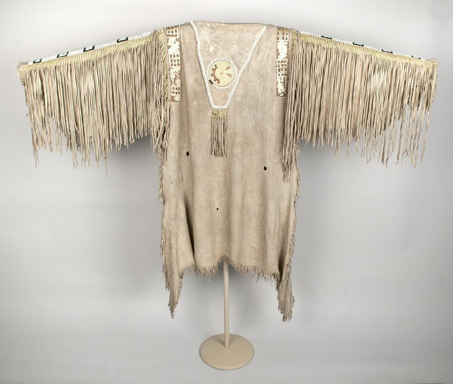 Man's Hide Shirt, Nez Perce