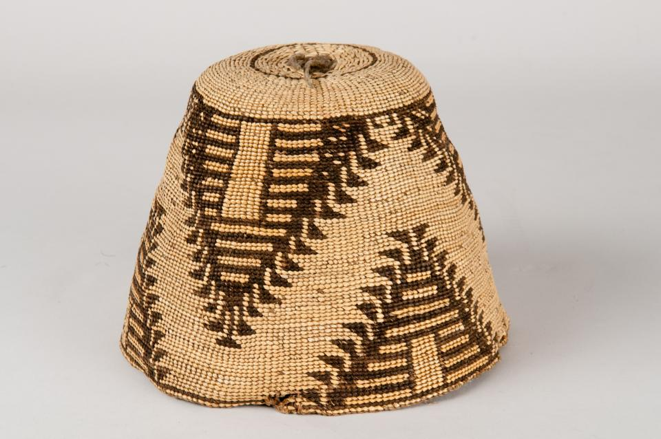 Woman's Basket Hat, Nez Perce