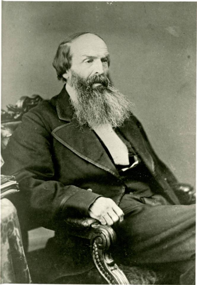 Photograph of Rev. Henry Harmon Spalding