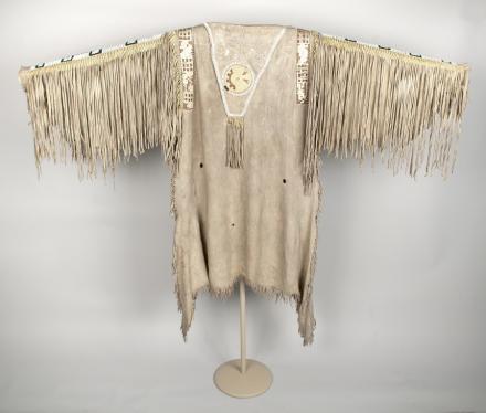 Man's Hide Shirt, Nez Perce